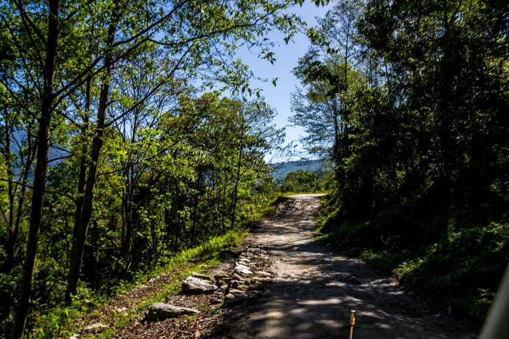 Carreteras de Sikkim