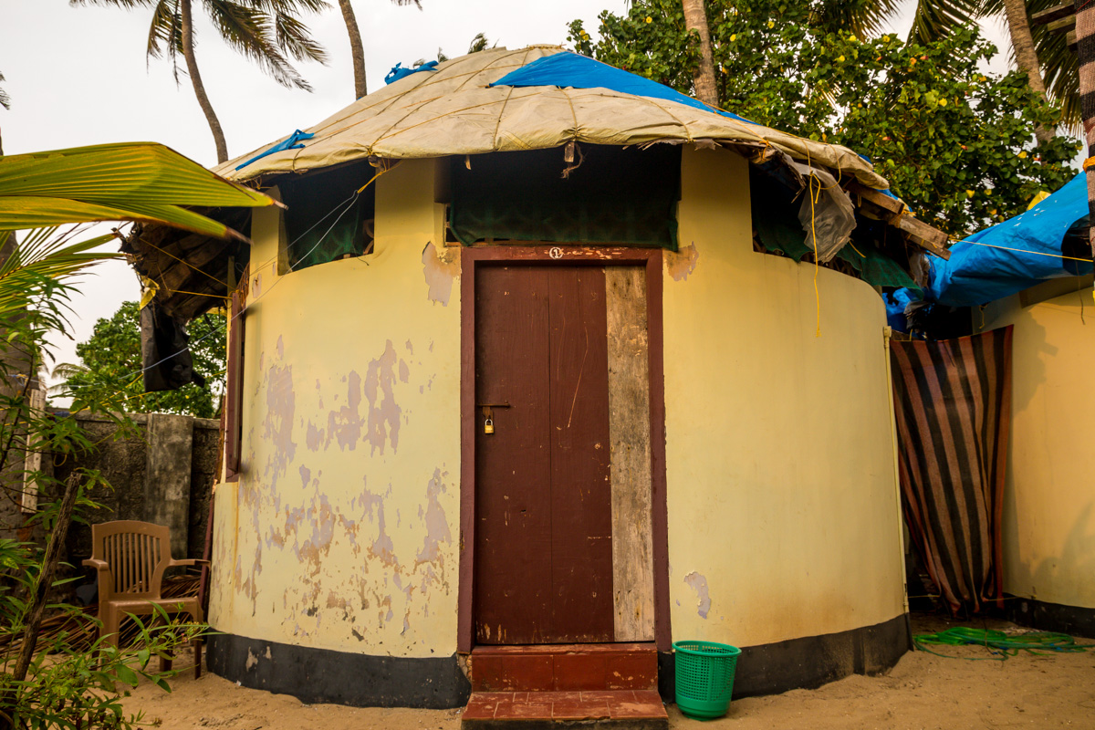 Alleppey - Sea Shore - bungalow