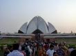 el templo del Loto en Delhi, templo del Bahaismo