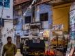 Estrechas calles en Kerala
