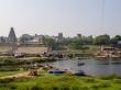 Los ghats y las ruinas del antiguo Hampi