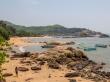 Desde aquí se aprecia la forma de Ohm de la playa (más o menos)
