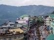 La MG road, el principal paseo peatonal de Gangtok