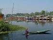 el lago Dal en Srinagar