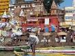 el día a día en Varanasi