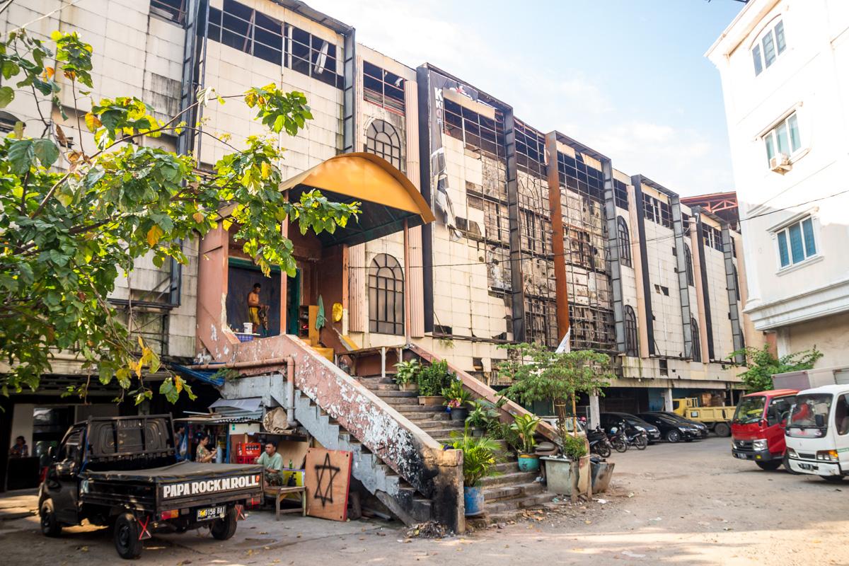 Calles de Yakarta