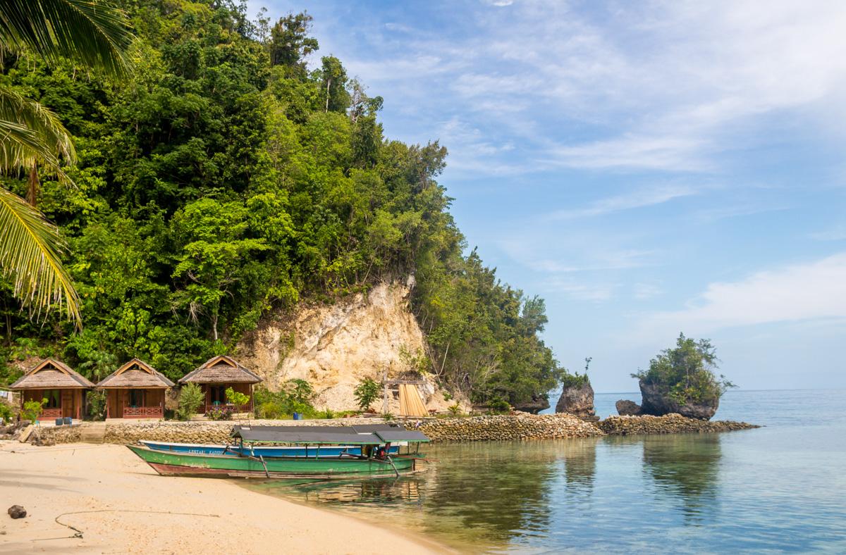 Playas de Kadidiri, Togean
