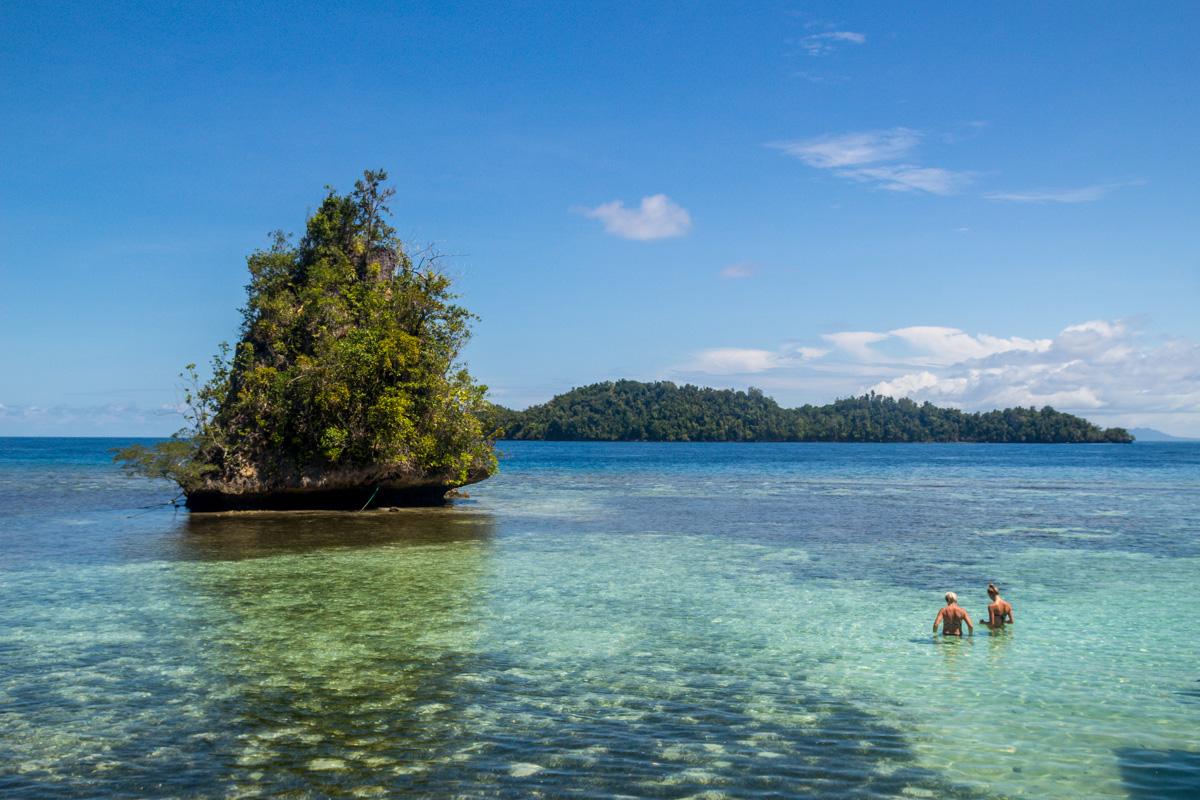 Agua y corales, Islas Togean