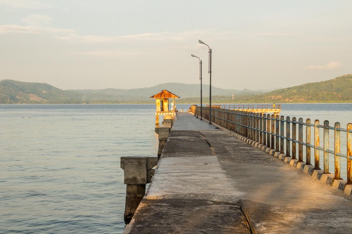 Embarcadero de Bunaken