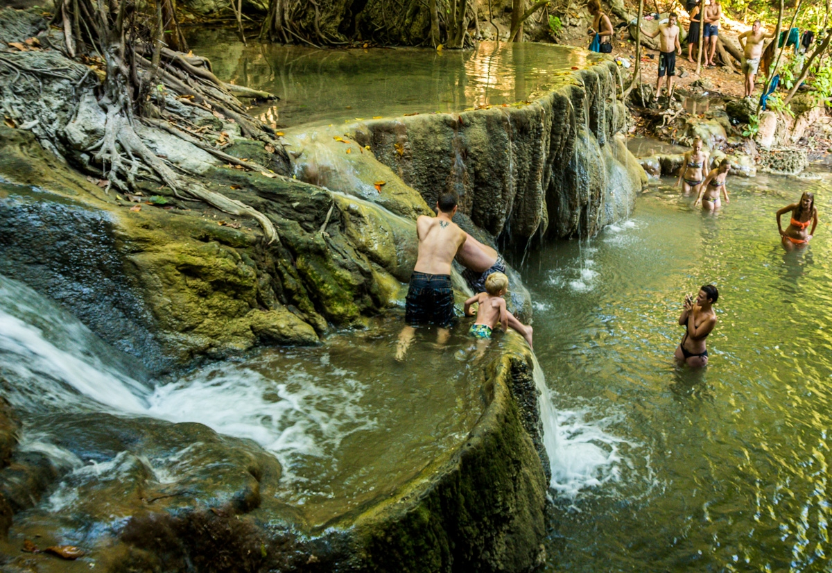 Cataratas de Moyo Island. Entre Lombok y Flores