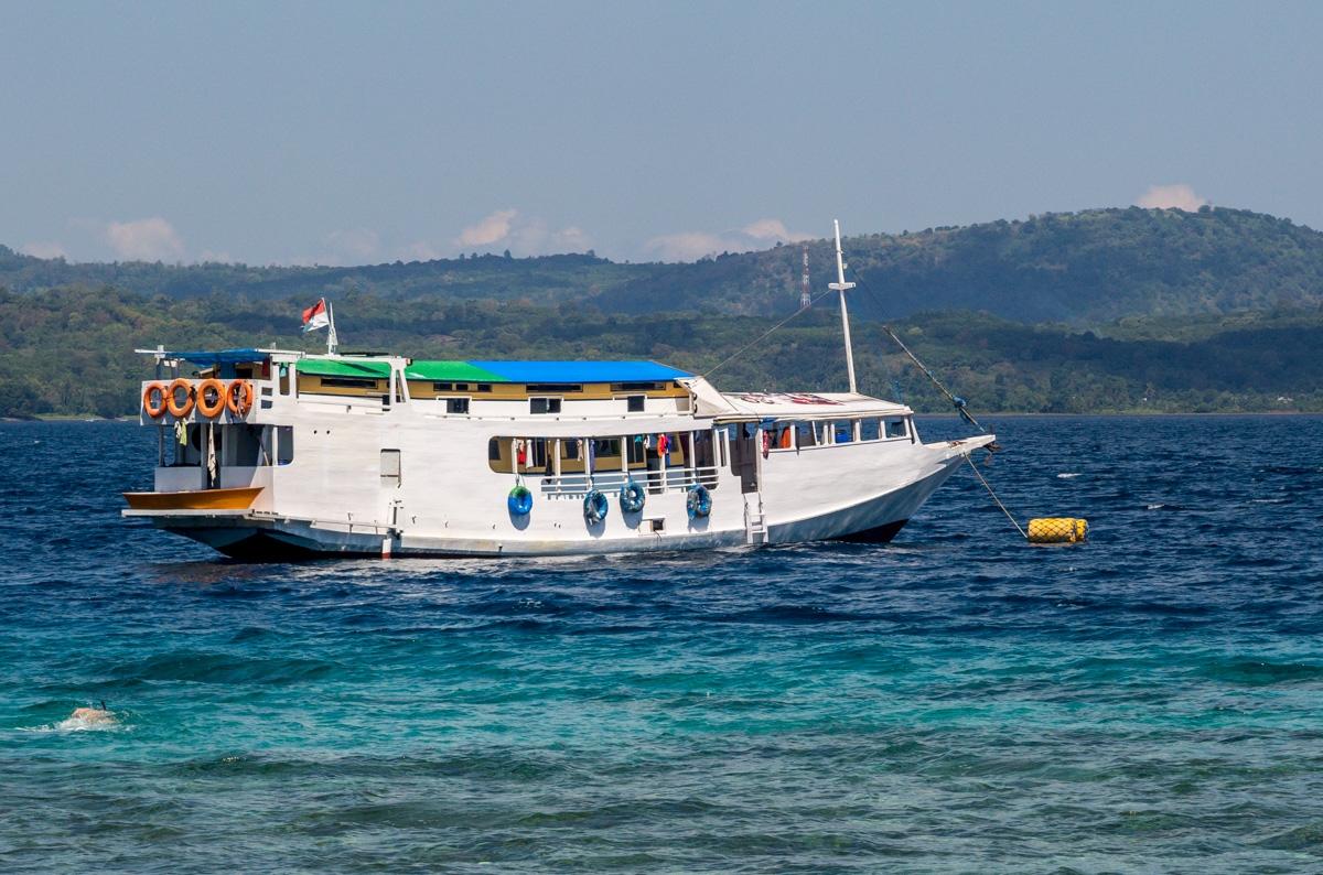 Nuestro barco!