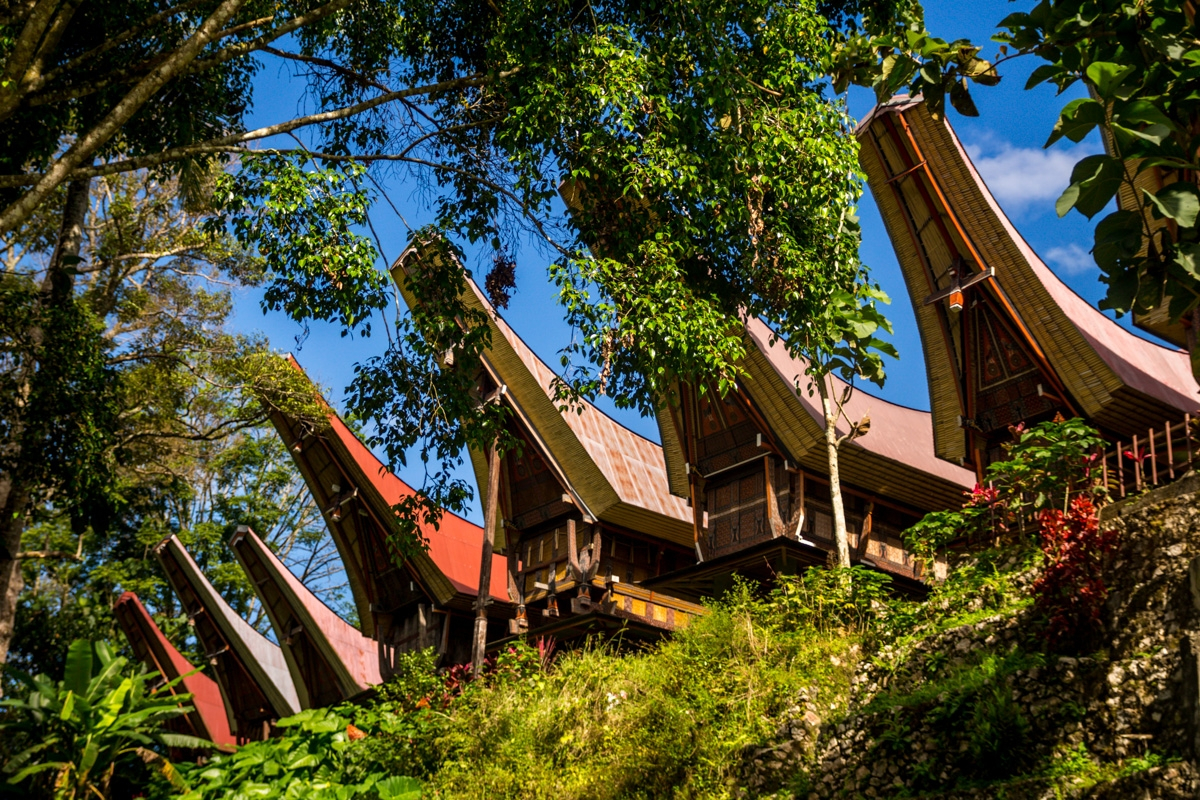 Contrucciones Tana Toraja