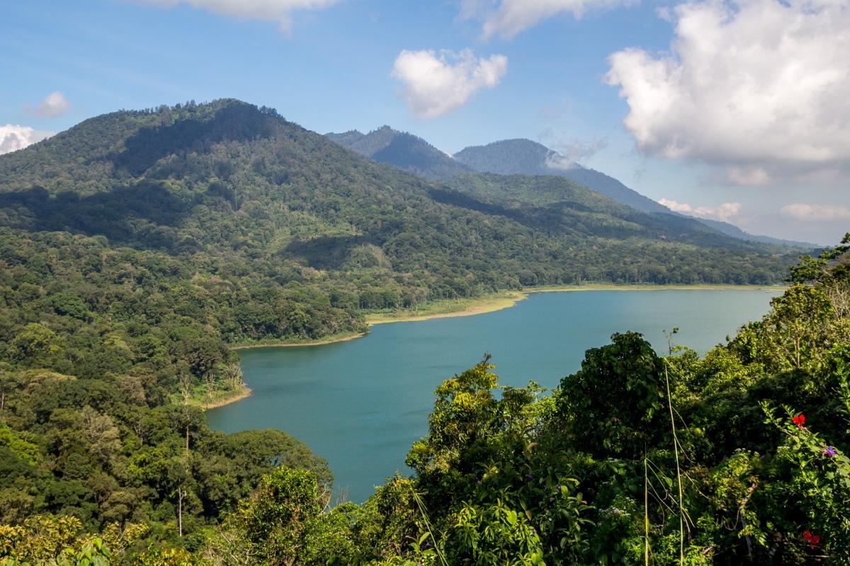 En las alturas de Bali