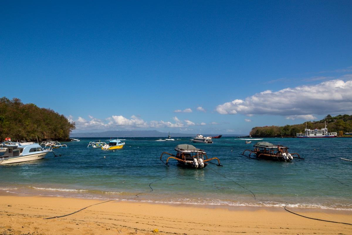 Playa de Padang Bai, Bali