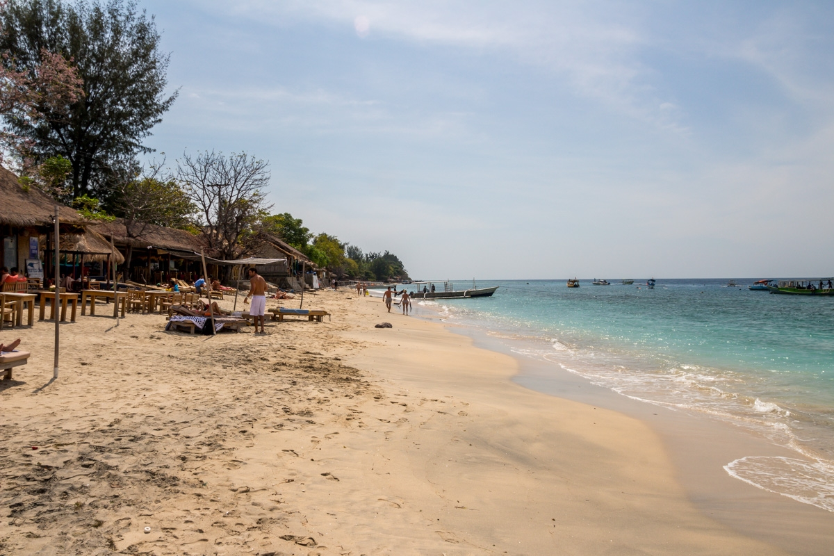 Playas de Gili Air