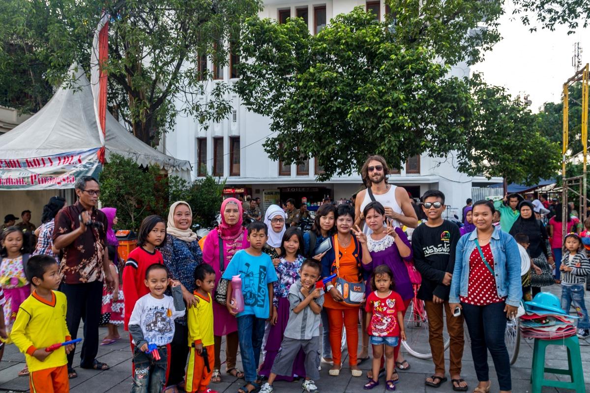 Foto de grupo! Yakarta