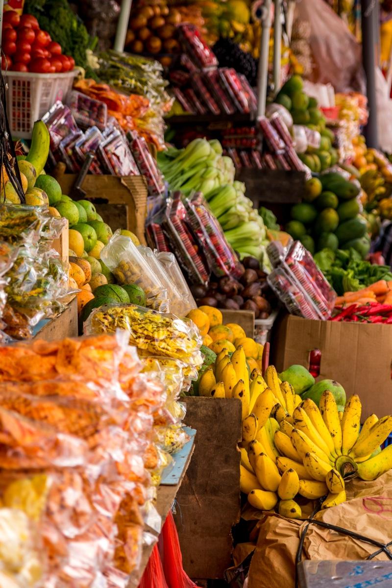 Mercado de especias, Bedugul
