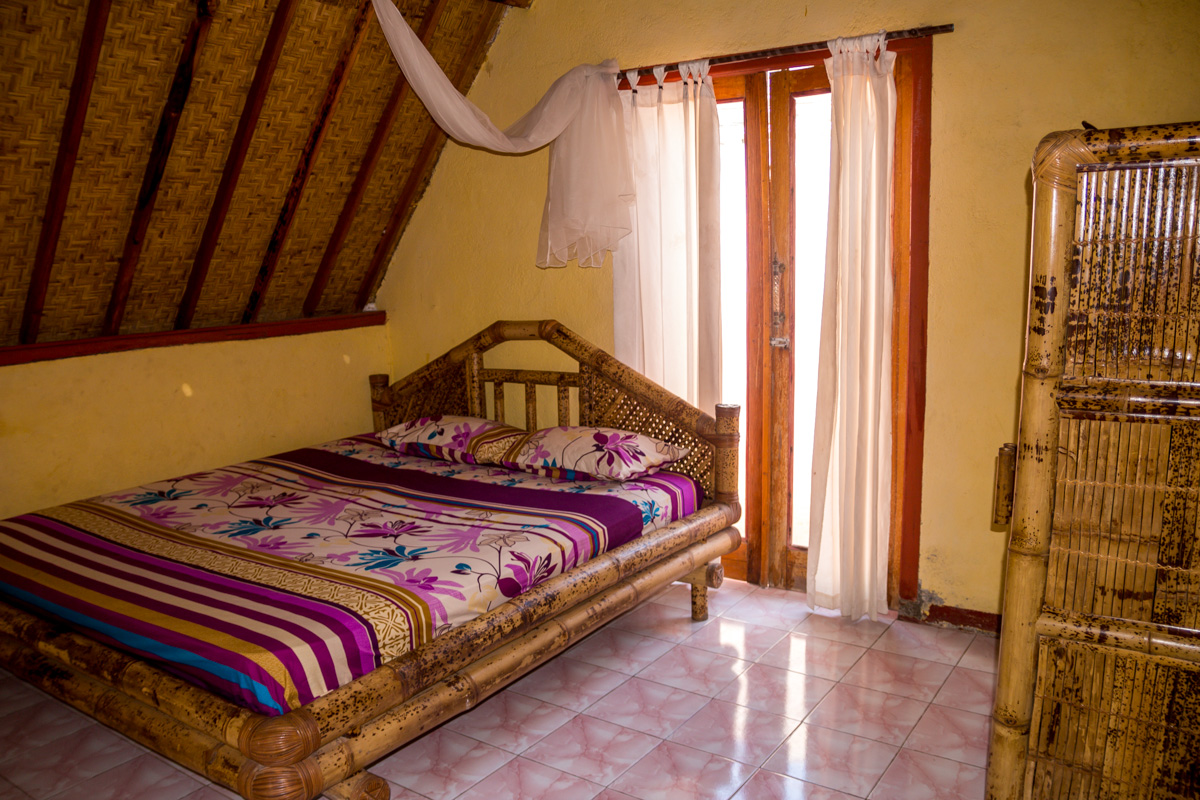 Gili Air - Nina Cottages habitación