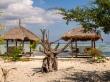 Mesas-cabaña de restaurantes, Gili Air