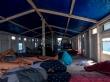 Las camas en nuestro barco, entre Lombok y Flores
