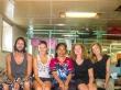 En el ferry Pelni con señora Indonesia, Katrine y Karoline