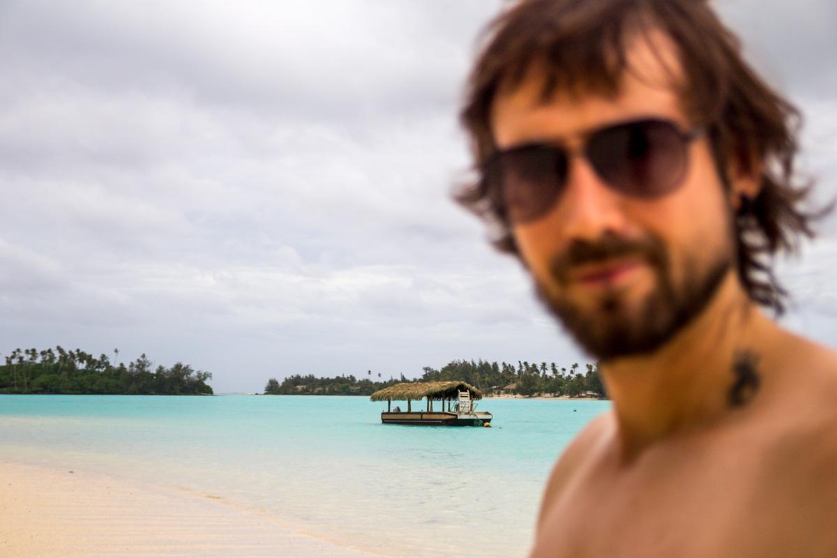 Desenfocado, islas Cook