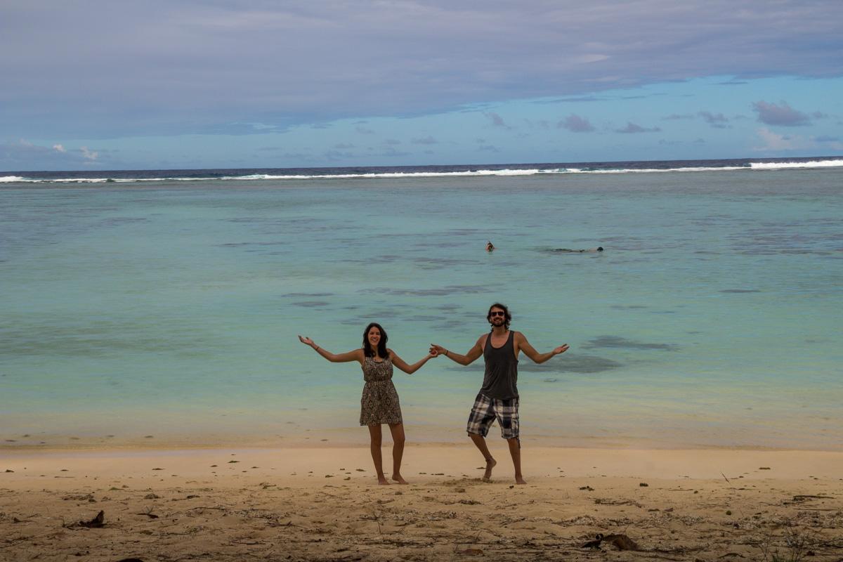 Playa para nosotros! islas Cook