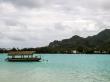 Barcas y relieve de Rarotonga, Islas Cook