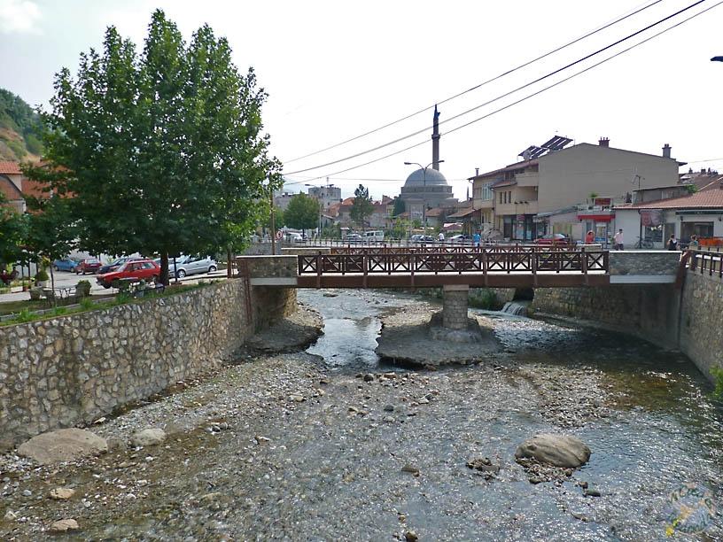 Río Bistrica, en Prizren