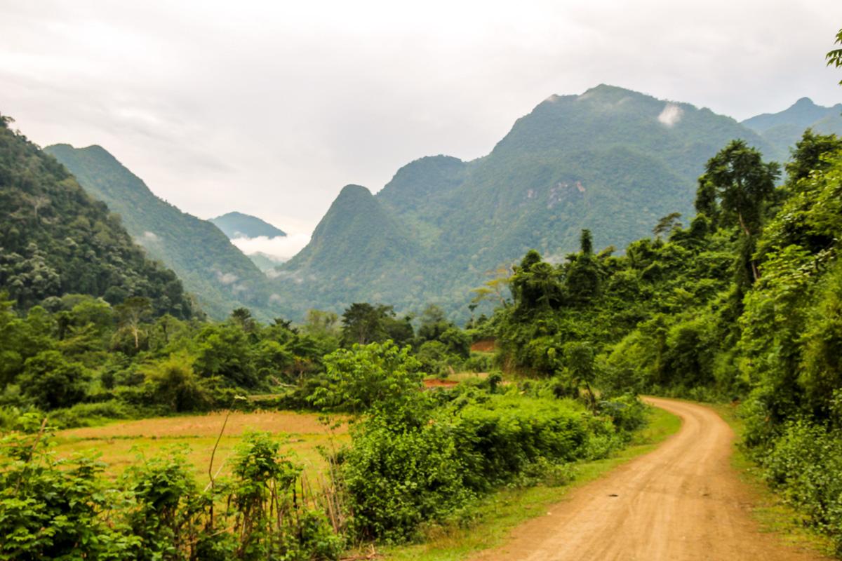 Alrededores de Muang Ngoi