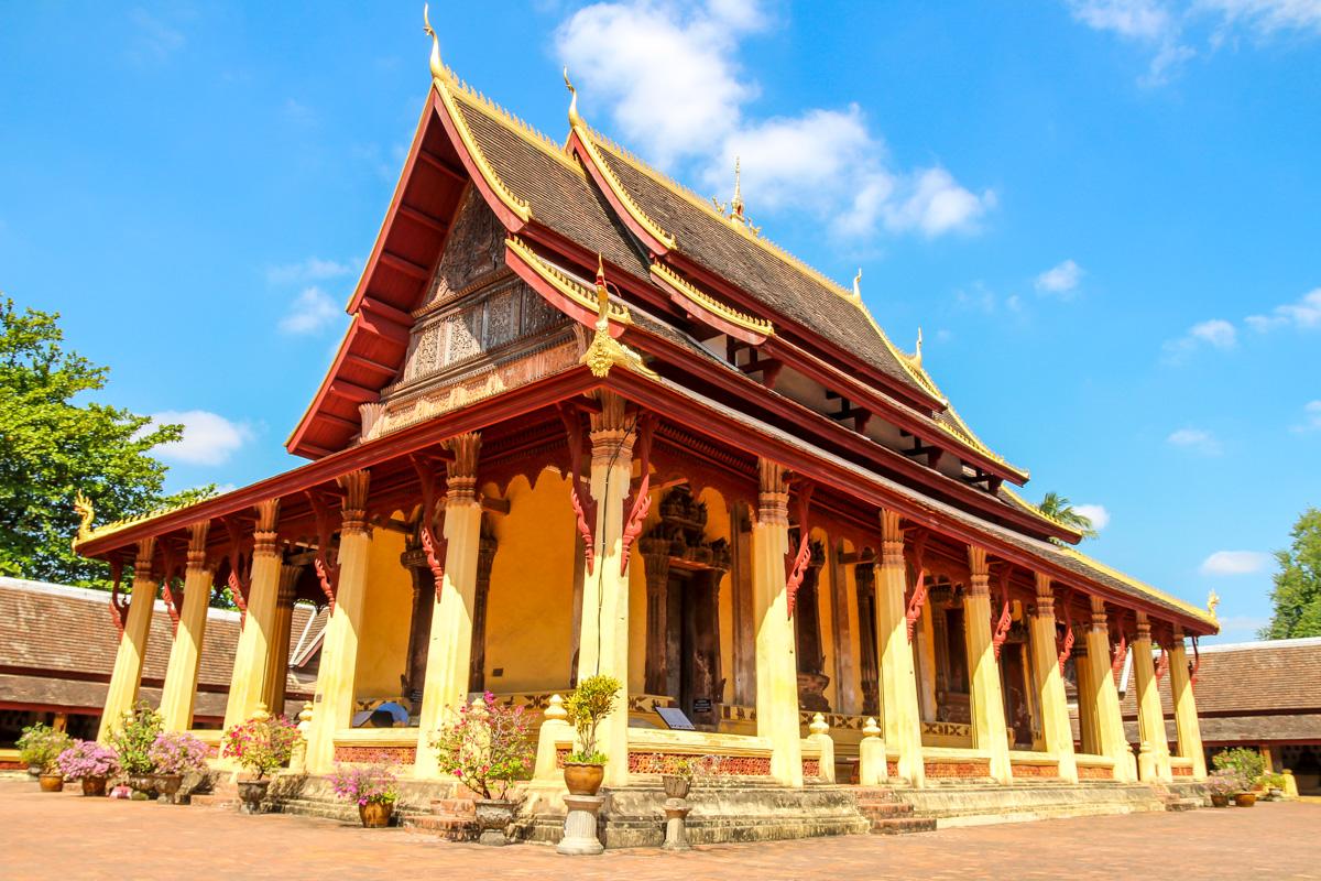 Templo de Sisaket, Vientiane
