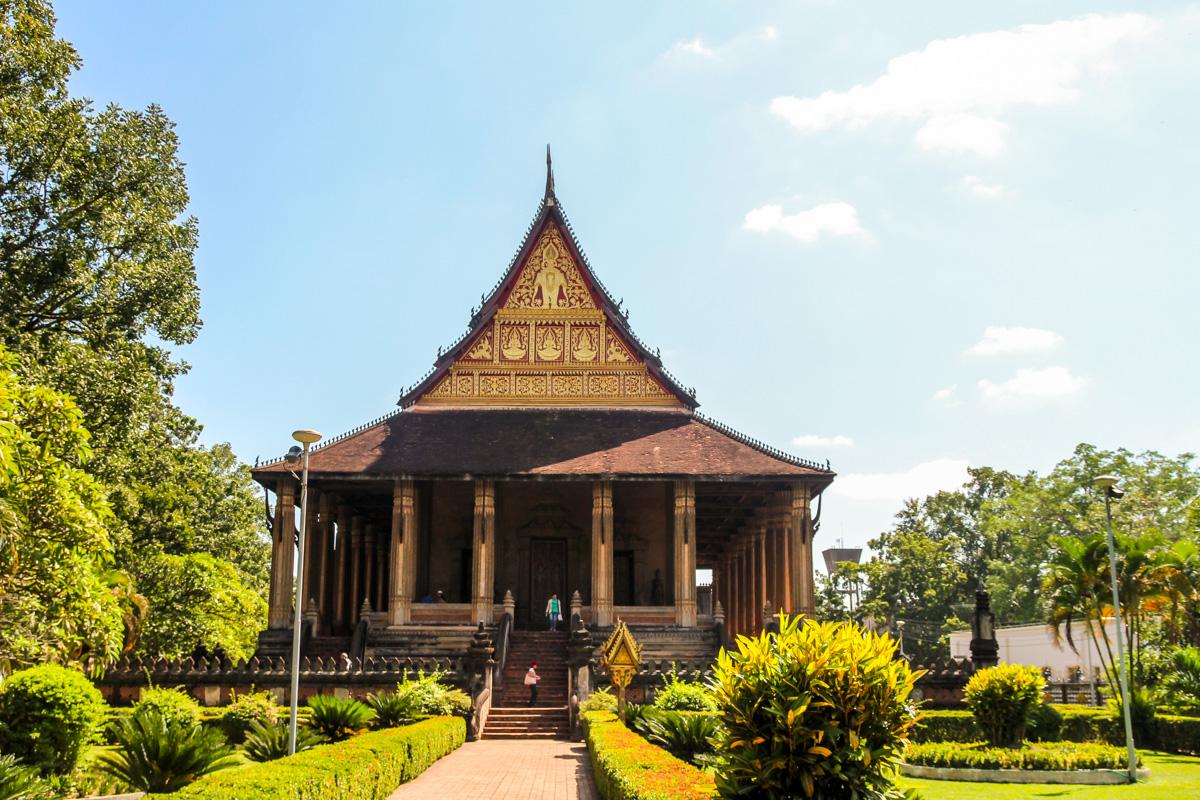 Templo de Ho Phakeo, Vientiane