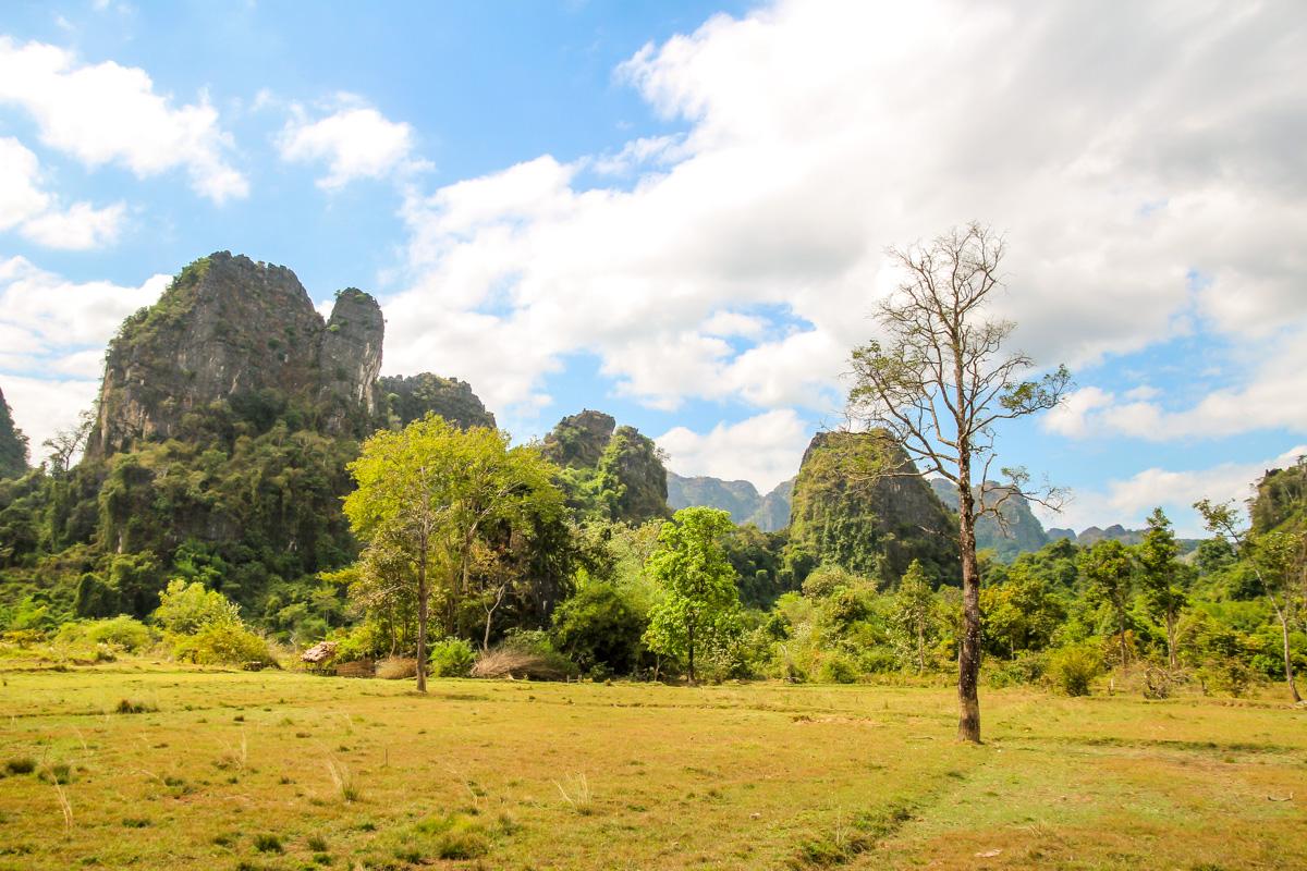 Los paisajes del primer día, Thakhek Loop