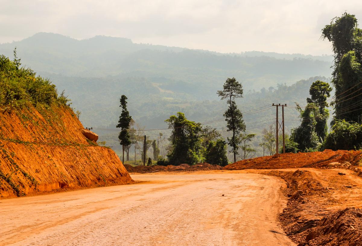 Carreteras en construcción, Thakhek Loop