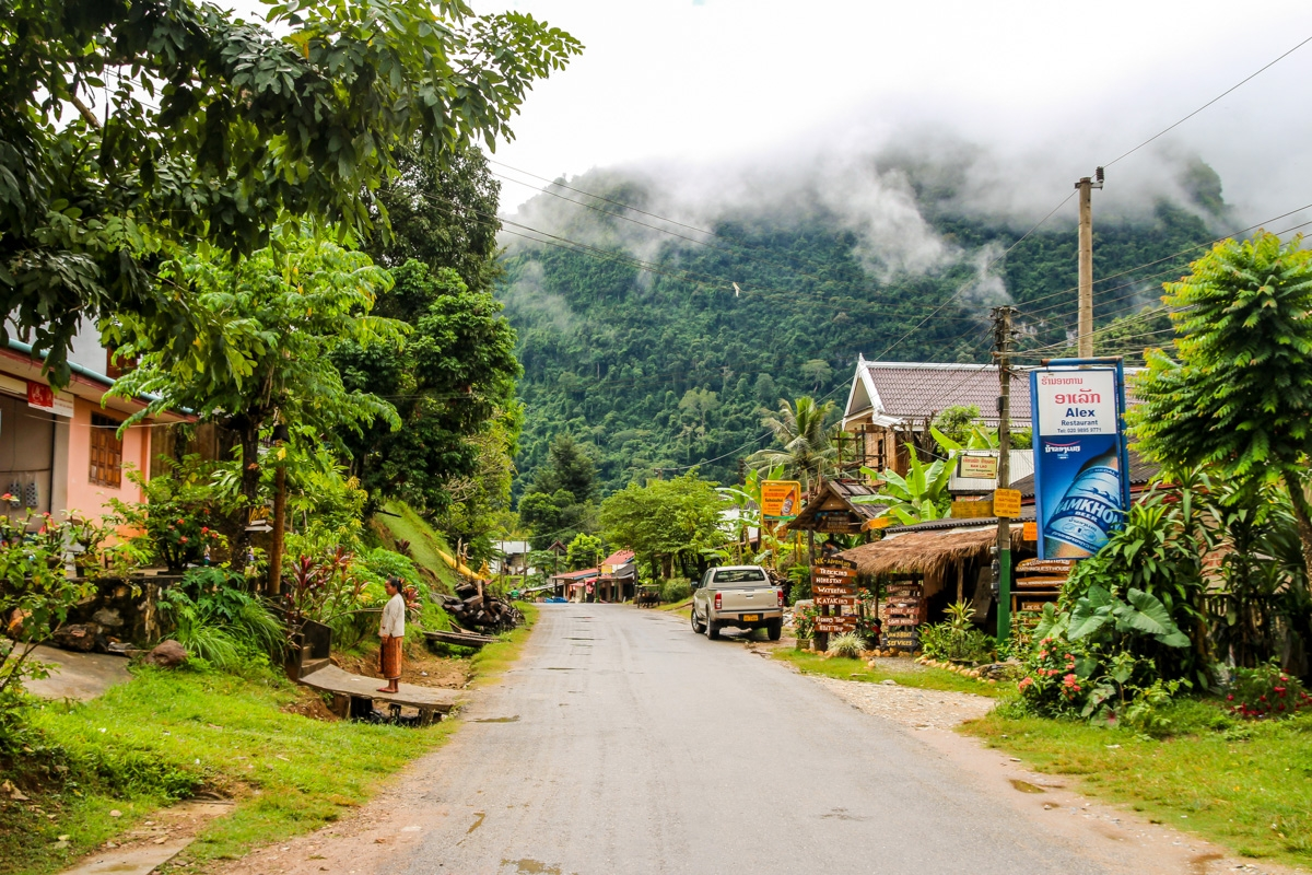 Calles de Nong Khiaw
