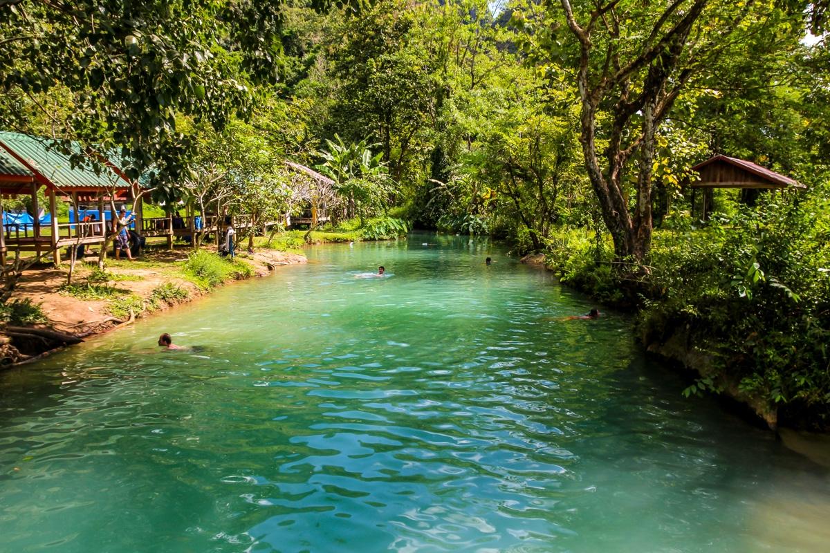 Blue Lagoon, Vang Vieng