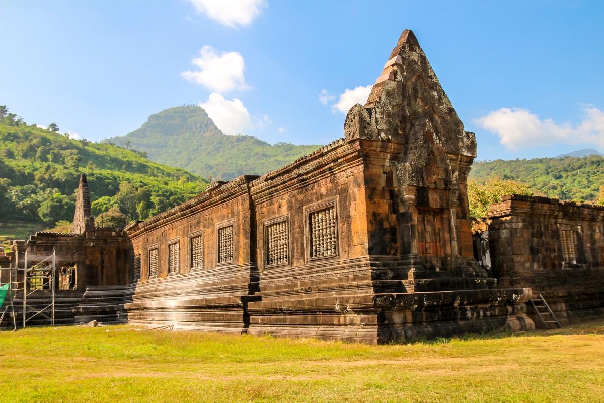 Complejo de Vat Phou en reconstrucción