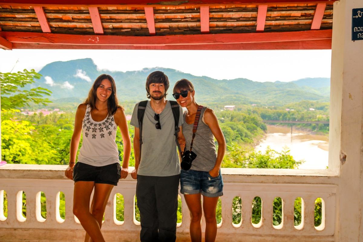Mirador a la ciudad, Luang Prabang