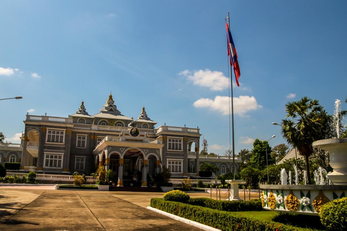 Palacio presidencial, Vientiane