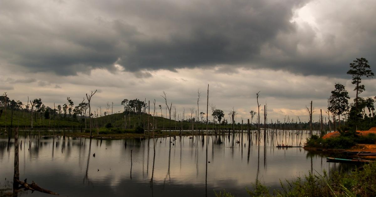 Panorámica de los pantanos, Thakhek Loop