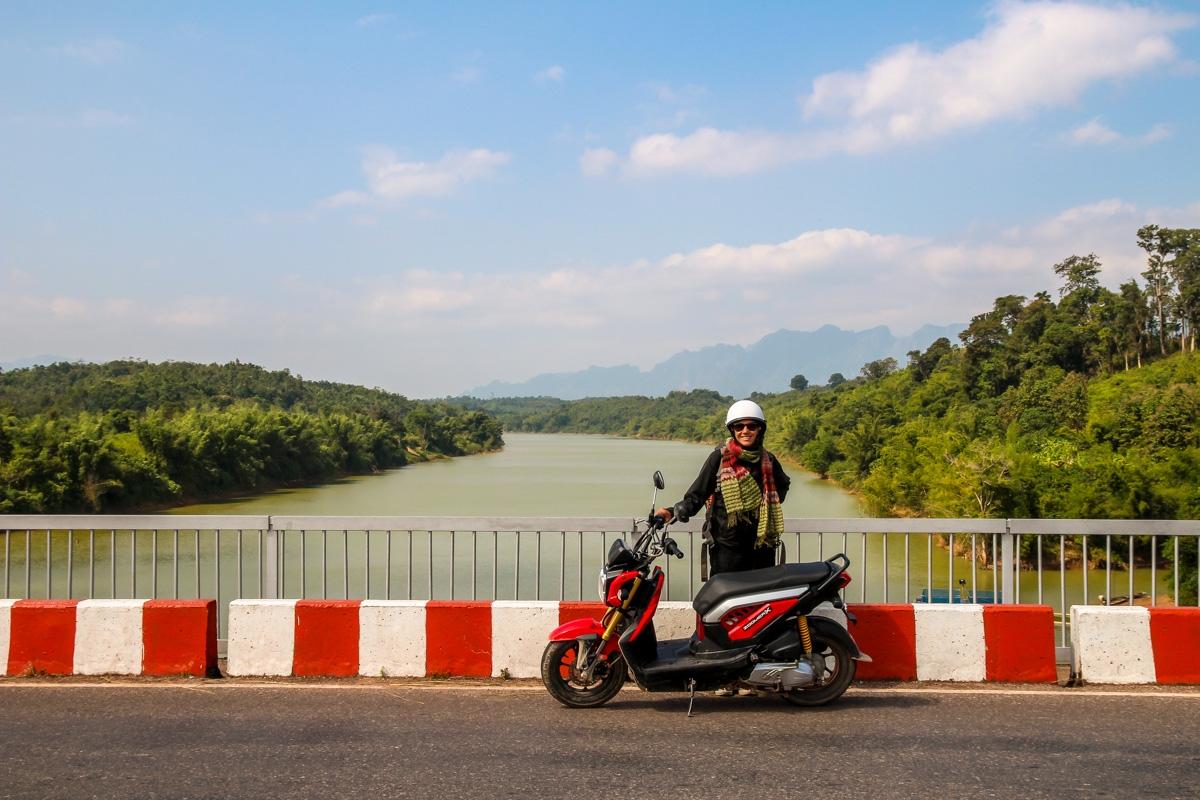 Cruzando ríos, Thakhek Loop