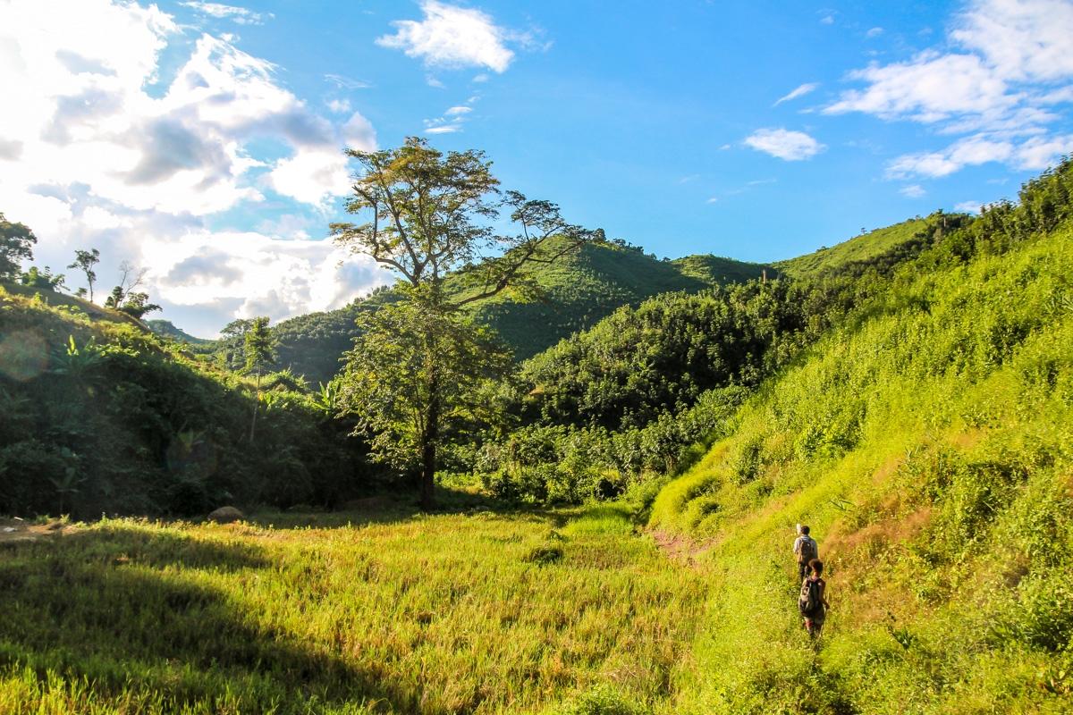 Acabando nuestro trekking, volvemos a ver el cielo abierto