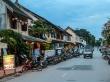 Atardecer en las calles de Luang Prabang