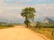 Entre tierra y polvo en el segundo día de ruta, Thakhek Loop