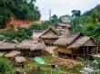 El poblado de Sopsine , junto al río Nam Tha
