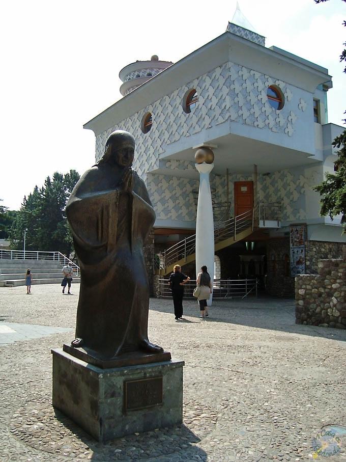 Casa Memorial a Santa Teresa de Cálcuta en Skopje, su ciudad natal