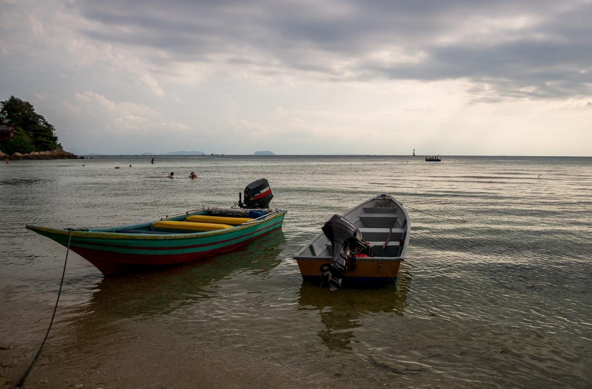 Barcas en las Perhentian