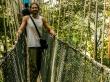 En el Canopy de Taman Negara, a muchos metros del suelo