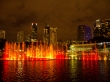 Espectáculo de luces en las Torres Petrona, Kuala Lumpur