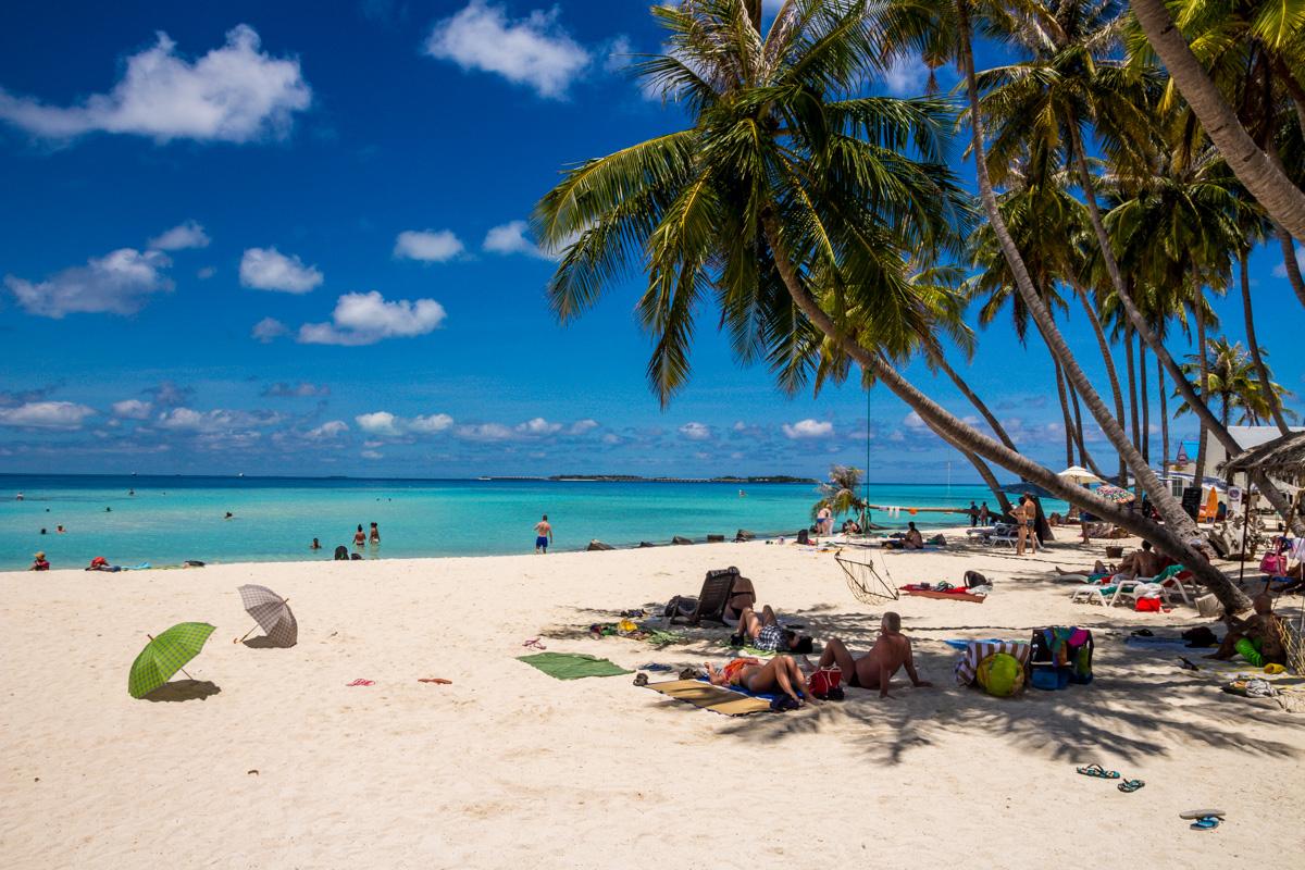 Bikini beach de Maafushi